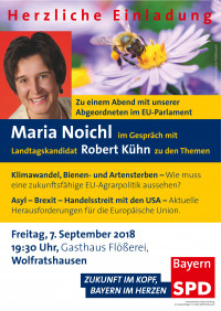 Maria Noichl im Gespräch mit Robert Kühn